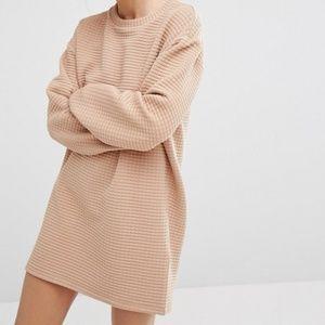 Monki Oversized Sweater Dress